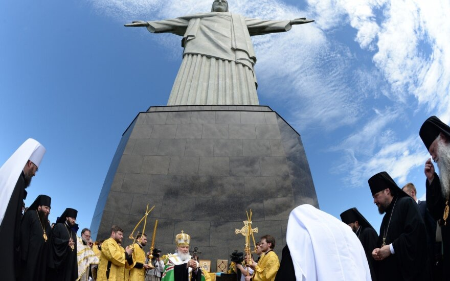 Патриарх Кирилл помолился в Рио за гонимых христиан
