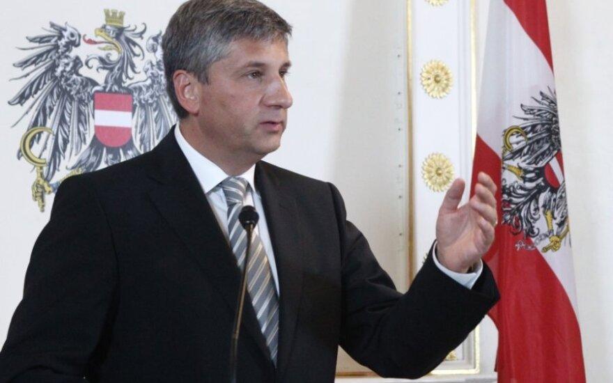 Austrijos užsienio reikalų ministras Michaelis Spindeleggeris