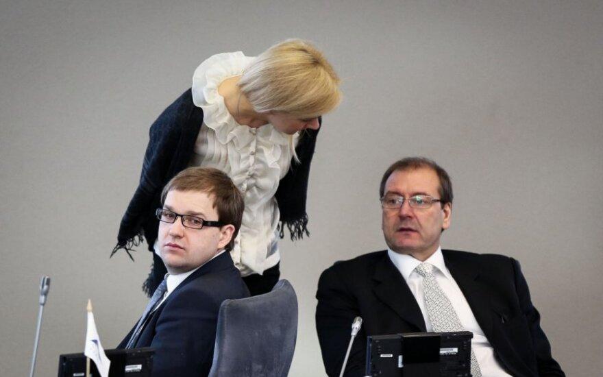Vytautas Gapšys, Vitalija Vonžutaitė ir Viktoras Uspaskichas