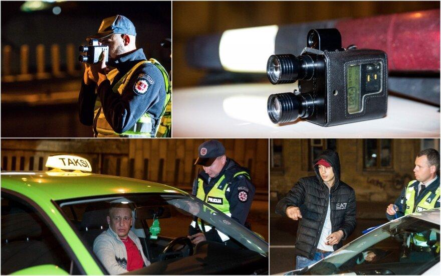 """Рейд в Вильнюсе: 22 """"долетались"""", а водитель BMW сразу стал продавать авто"""