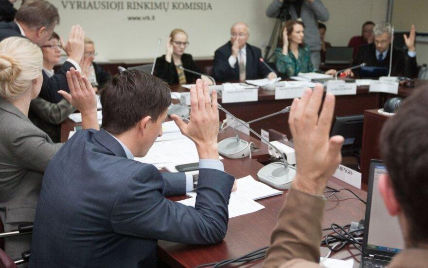 ГИК утвердила окончательные результаты парламентских выборов в 70 одномандатных округах