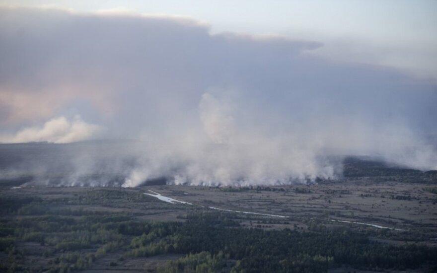 В Чернобыльской зоне остались только отдельные очаги возгораний