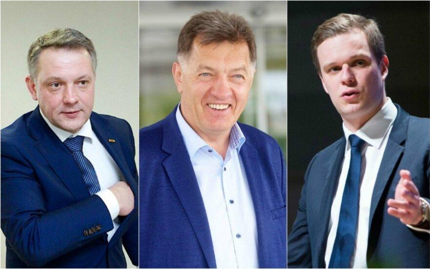 Eligijus Masiulis, Algirdas Butkevičius ir Gabrielius Landsbergis