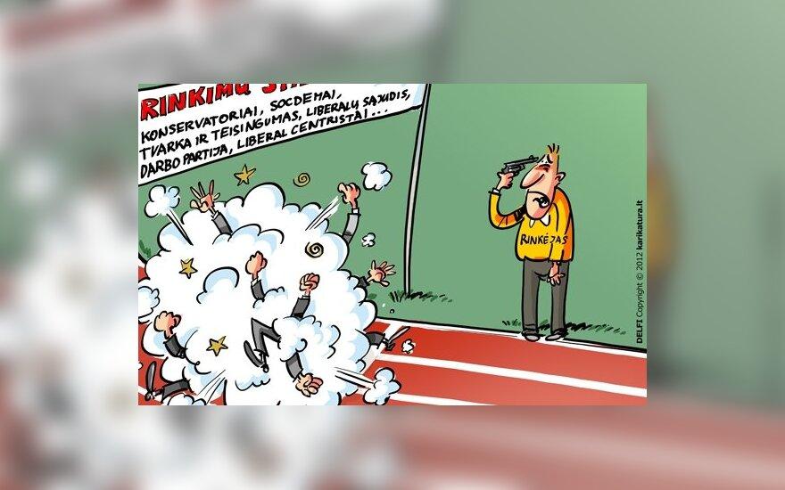 """Опрос: популярность соцдемов и """"трудовиков"""" незначительно снизилась, """"Пути смелости"""" – возросла"""
