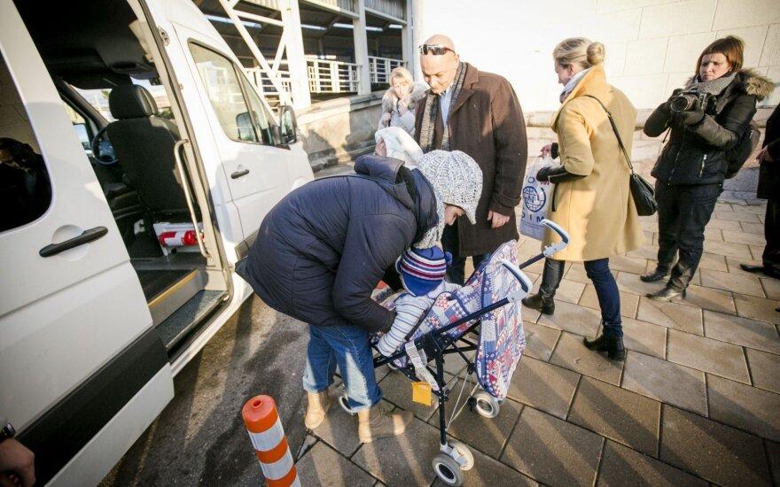 Большая часть беженцев уехала из Литвы