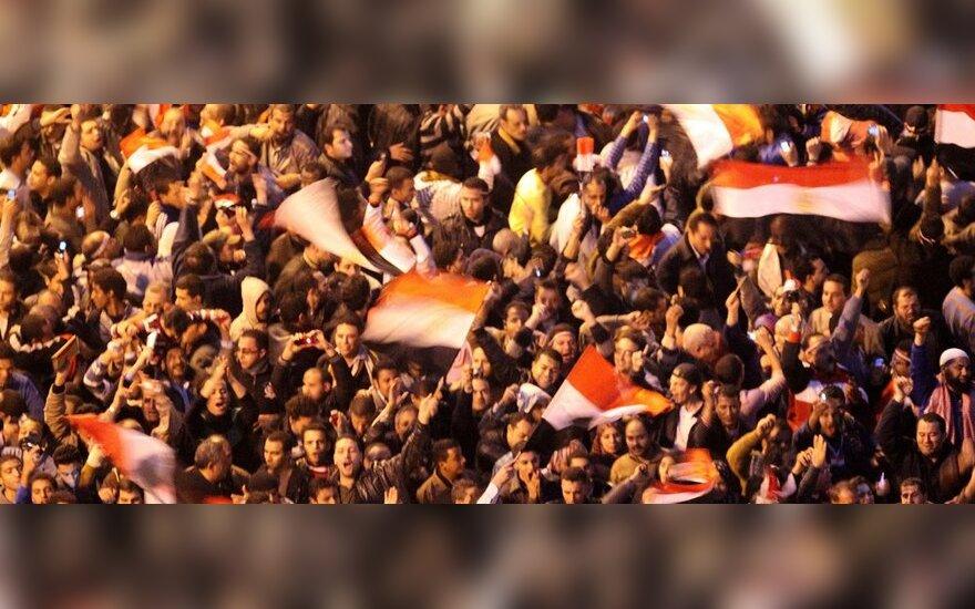 Египет: парламент распущен, конституция отменена