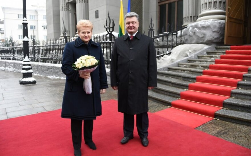 Prezydent Dalia Grybauskaitė jedzie na Majdan