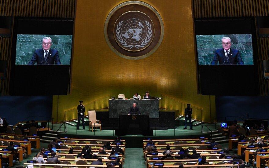 Президент Литвы в ООН: Россия не сделала ничего, чтобы заслужить наше доверие