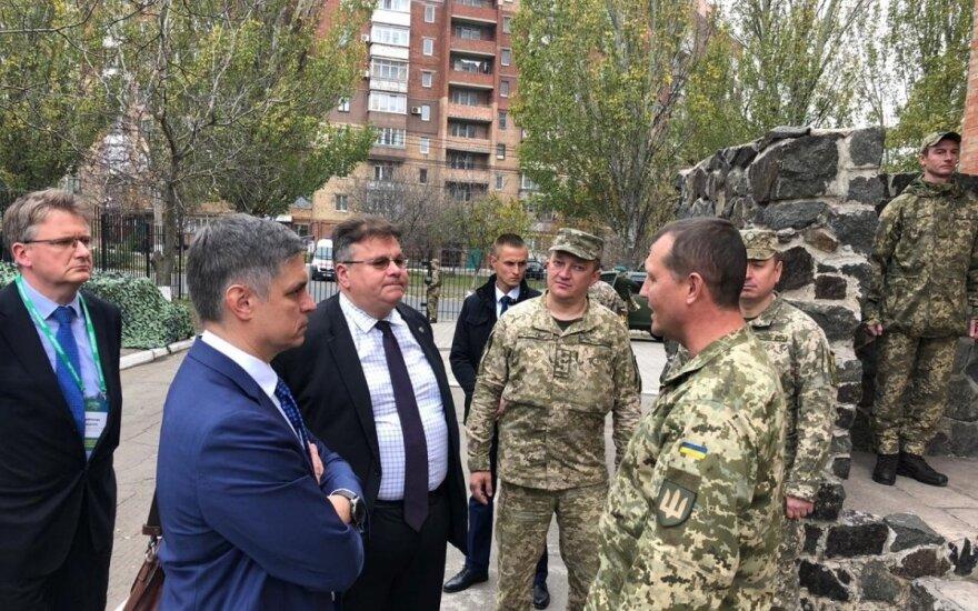 Глава МИД Литвы встретился с президентом Украины: Зеленский искренне хочет мира