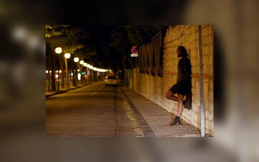 В Вильнюсе полиция задержала 12 проституток
