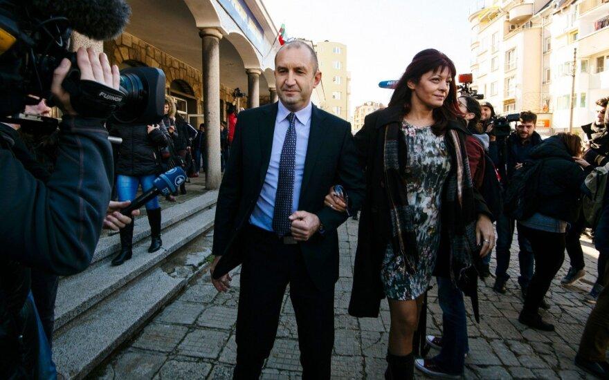 Bulgarijos socialistų partijos kandidatas Rumen Radev