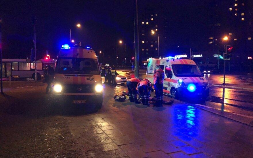 В Вильнюсе автобус насмерть сбил женщину