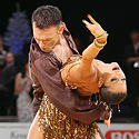 Maria  Manusova ir Eugene Katsevman, JAV