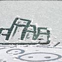 Apsnigtas automobilio stiklas padailintas piešiniu