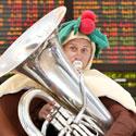 Muzikos garsais Kalėdų dvasia pasiekė Melburną