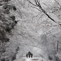 O Varšuvoje - žiema...