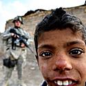 Irakietis berniukas