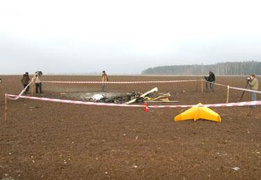 2008 m. sausio 14 d. užsimušė žinomas lakūnas Vytautas Lapėnas