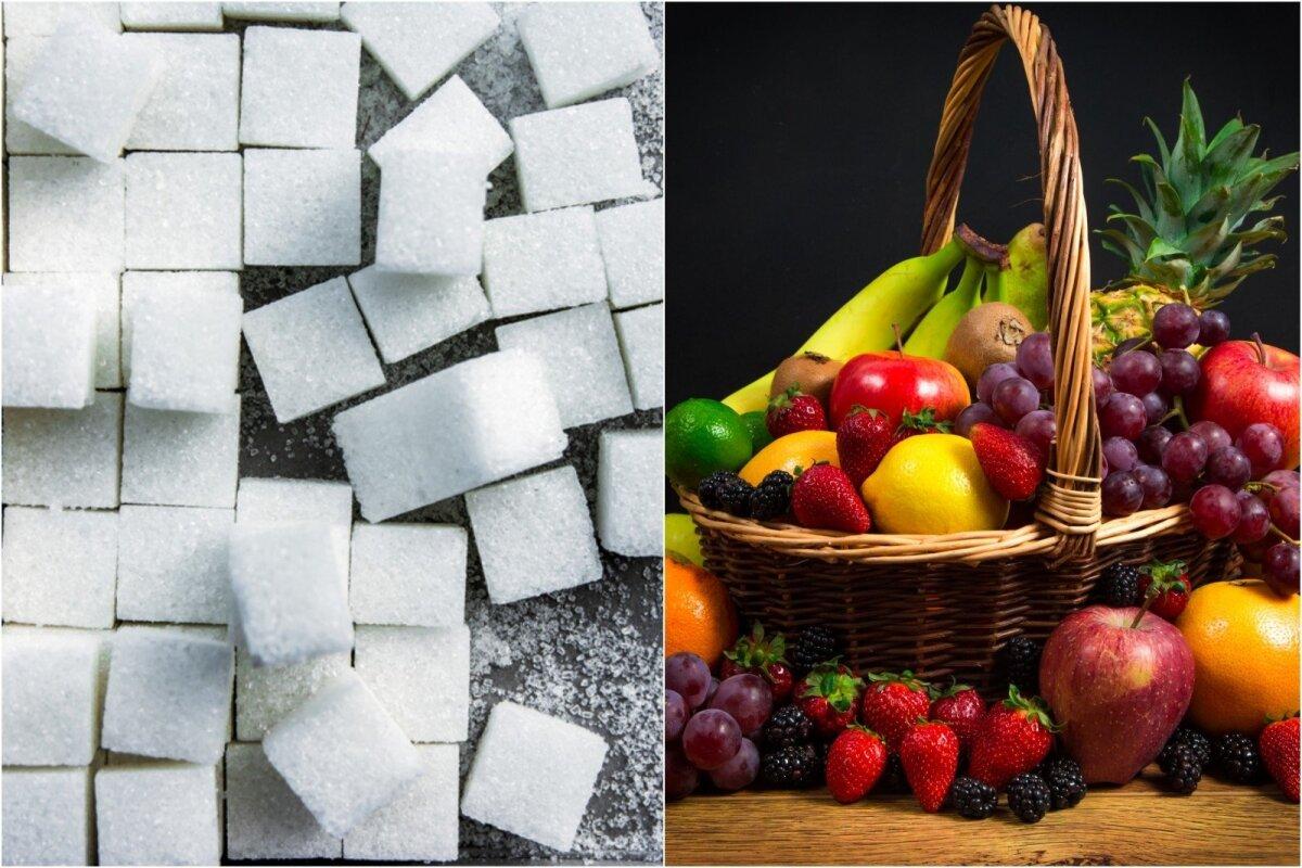 atsisakyti cukraus svorio)