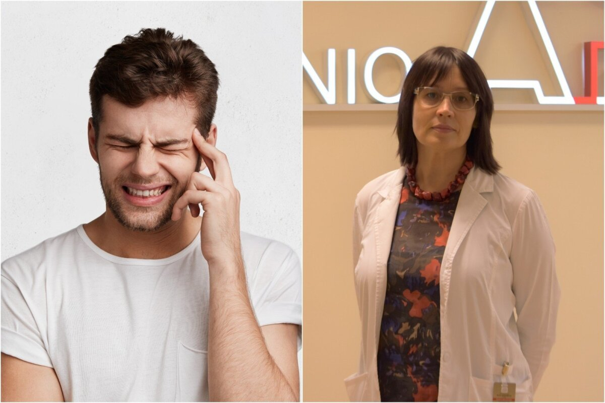 hipertenzija galvos skausmas palengvina