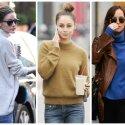 Stiliaus gidas: kada vilkėti, o kada vengti megztinių aukštu kaklu (FOTO)