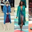 """Anna Wintour ir """"Burberry"""" 2015 m. kolekcijos modeliai"""
