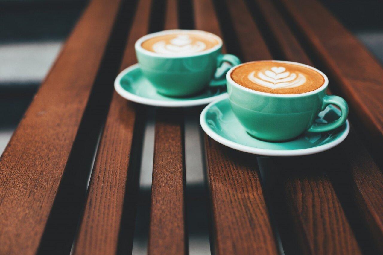 kofeino, esančio kavos svorio metimo metu