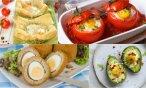 10 originalių kiaušinių receptų šventiniams pusryčiams