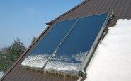 Kuo saulės kolektoriai gali būti naudingi žiemą?