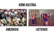 Kūno kultūra: Amerikoje ir Lietuvoje