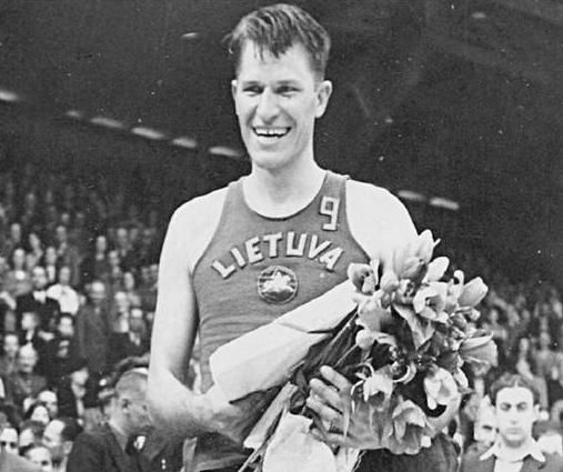 1939 EuroBasket MVP Pranas Lubinas