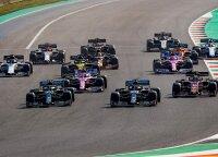 Hamiltonas Rusijoje turėjo problemų, rekordininku tapo tik Raikkonenas