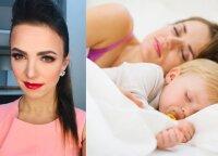 Rūta Lapė: kartais tenka atlaikyti svečių žvilgsnius, kai sužino, kad mūsų vaikai vis dar miega su tėvais