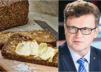 Ekspertai įvardijo, kokią duoną rinktis iš tikrųjų sveika