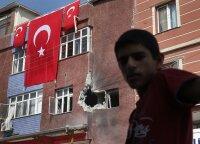 """Turkija žada tęsti operaciją Sirijoje """"su pasaulio parama arba be jos"""""""
