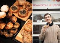 Vilniuje vėl pakvipo chala – atidaryta atnaujinta žydiško maisto kavinė