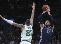 """NBA apžvalgininko pasiūlymas """"Grizzlies"""" klubui: išsiųsti Valančiūną į Bostoną"""