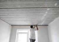 Parodė, kaip montuojamos gipso lubos: ką turite apie jas žinoti?