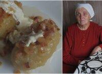 Firminis močiutės receptas: lietuvių klasika – neatsivalgomi tarkuotų bulvių cepelinai