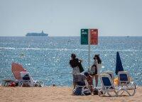 Turistų srautai į Ispaniją pirmąjį pusmetį sunyko daugiau nei 70 proc.