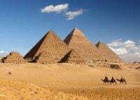 Statinys, kuris gali pergyventi net legendinę Gizos piramidę
