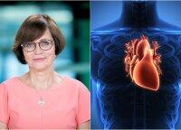 80 proc. širdies ligų galima išvengti ir kardiologė pataria, kaip tai padaryti: vieno dalyko turite atsisakyti iškart