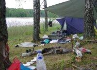 Aplinkosaugininkai įspėja nepamiršti stovyklavimo taisyklių: dalins baudas