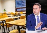 Po skandalingo gaisro mokykloms išplatintame rašte – griežti nurodymai: Cesiulio pritarimo reikės kiekvienam eurui