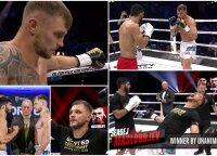"""""""Grybavimo"""" ir muštynių """"Glory"""" kovoje išvengęs Maslobojevas: iš ringo lipau apimtas ekstazės"""