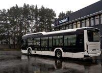 """Naujo elektrinio autobuso """"Scania Citywide"""" testas: miesto transporto perspektyva"""