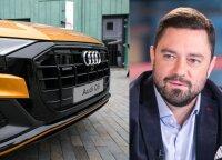 """Andriulis rėžė apie įsigytą dyzelinį """"Audi Q8"""": už 100 000 eurų pardavė nevažiuojantį automobilį"""