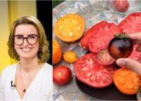 Vaida Kurpienė papasakojo, kokie pomidorai vertingiausi, o kokių geriau nė neragauti