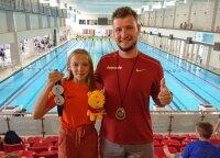 Puiki sezono pradžia: talentinga Smiltė pagerino Lietuvos 13-mečių rekordą