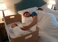 Ramaus miego receptas visiems tėvams: įvardijo didžiausias klaidas, migdant kūdikius